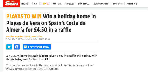 imagen articulo Media such as The Sun have already spoken about this Spanish startup